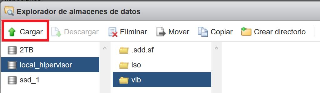 Instalar driver/controlador de tarjeta de red en VMware ESXi 6.5 mediante fichero .zip con .vib y .xml