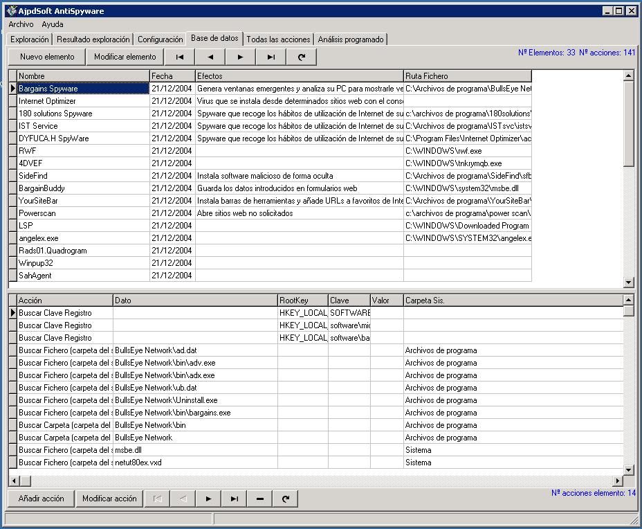 AjpdSoft AntiSpyware Beta Código Fuente Delphi 6