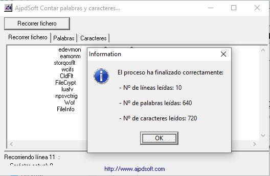 AjpdSoft Contar palabras y caracteres Código Fuente Delphi 6