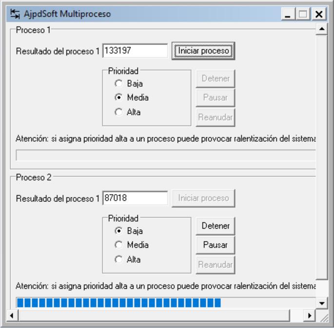 AjpdSoft Multiproceso Código Fuente Delphi