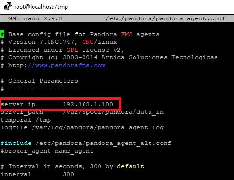 Instalar agente de Pandora FMS para monitorización en Linux CentOS 8 Minimal