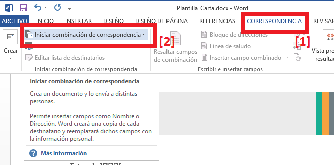 Enlazar con la base de datos Access e insertar campos en el documento de Word