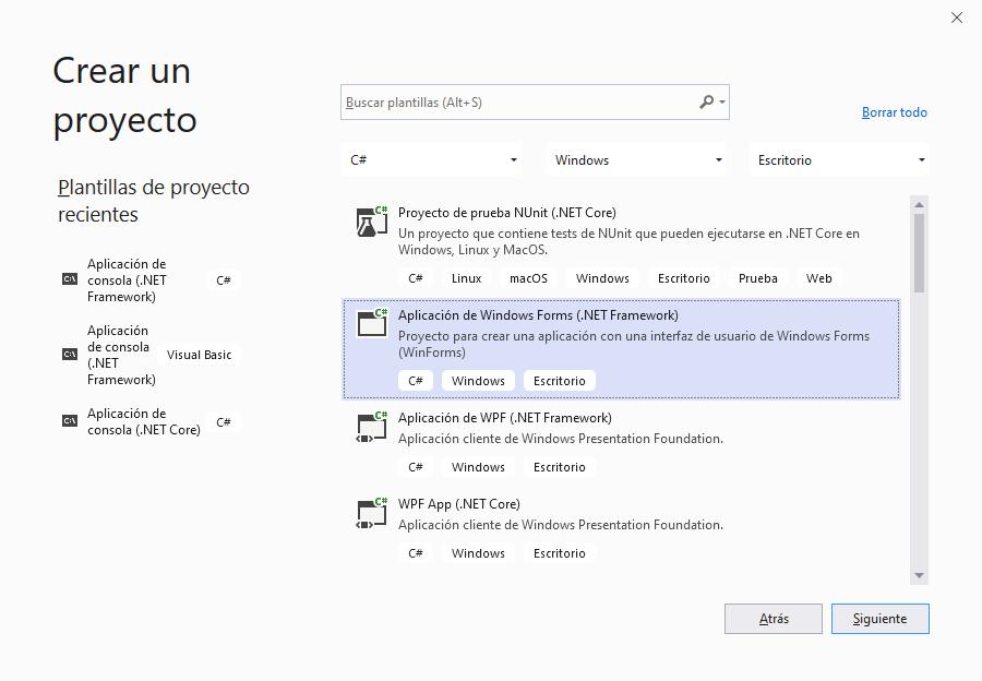 Crear aplicación .Net C# para leer y escribir ficheros CSV