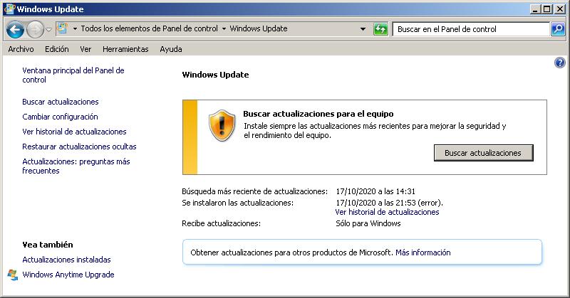 Requisitos para traducir Windows de inglés a español en su versión Windows 7 Home Premium x64
