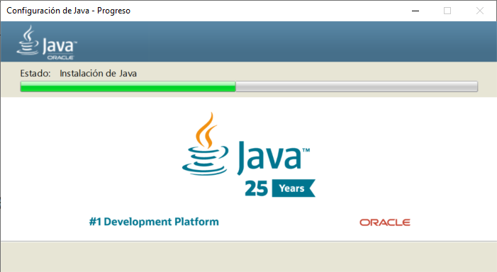 Ejecutar fichero JAR de aplicación Java en Windows