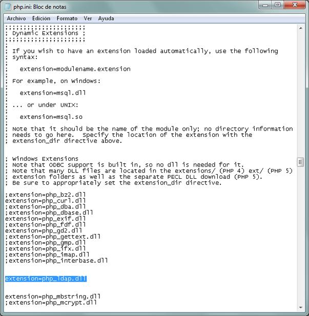 Cómo validar en un servidor LDAP Active Directory con PHP