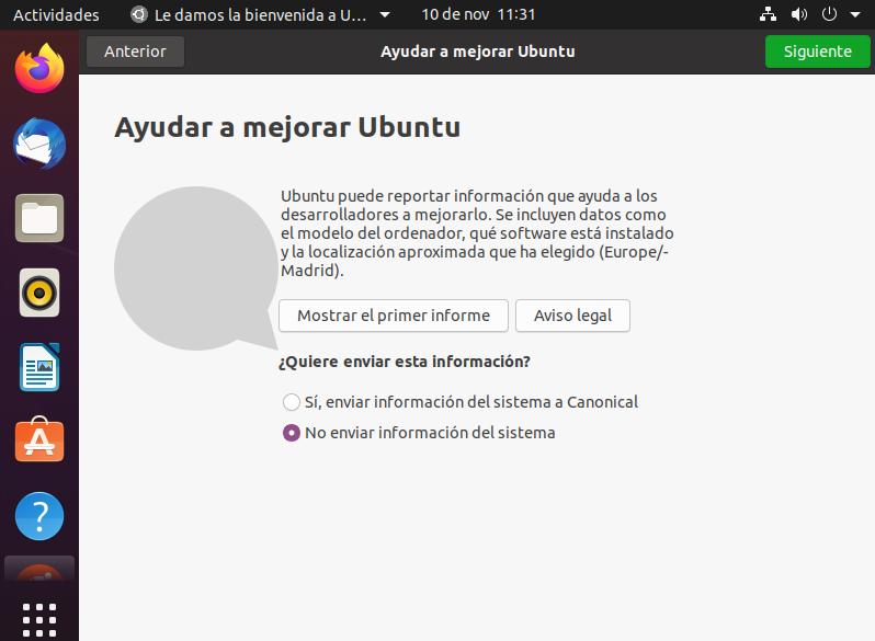 Instalar Linux Ubuntu 20.04.01
