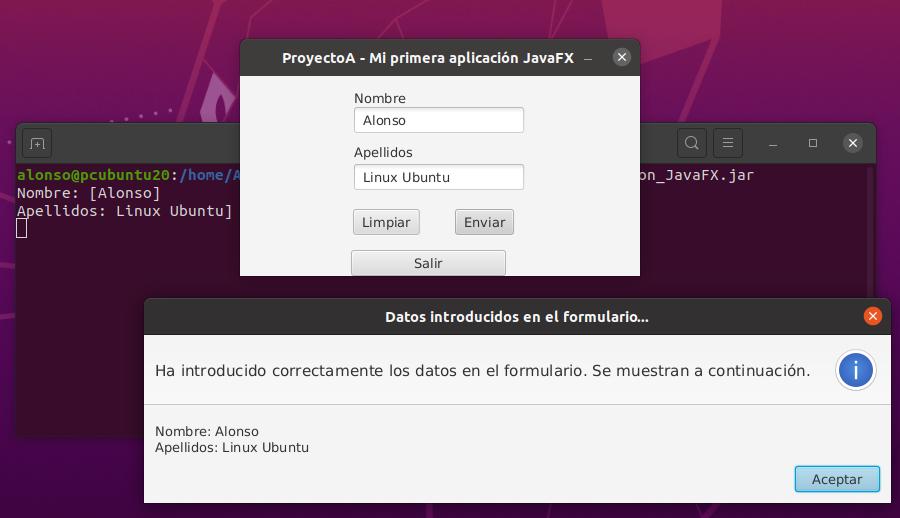 Primera aplicación en modo gráfico con ventanas en Java con IntelliJ IDEA y SceneBuilder