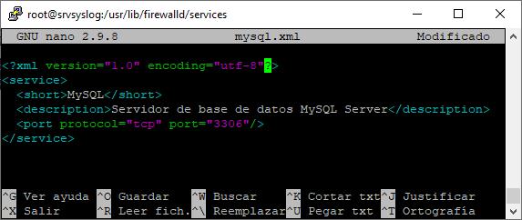 Eliminar un puerto abierto en el firewalld de Linux
