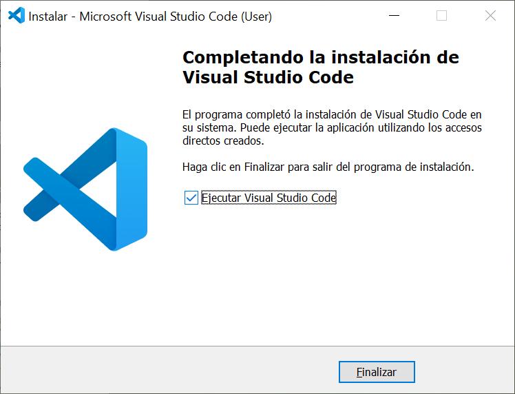 Instalación del IDE gratuito Visual Studio Code