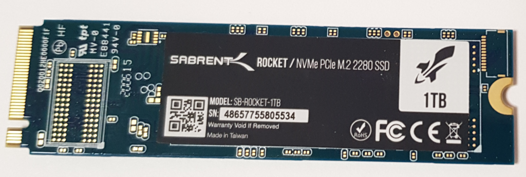 Disco duro SSD M.2 NVMe