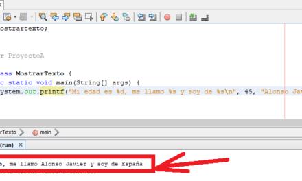Varios métodos para mostrar datos por pantalla en Java