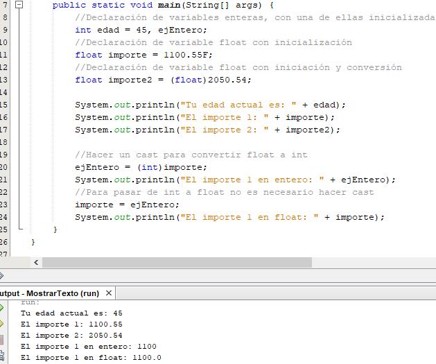 Jerarquía de conversión de tipos numéricos en Java