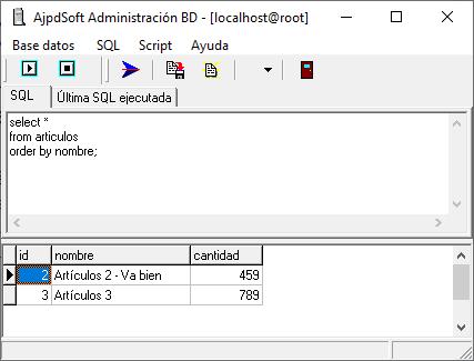 AjpdSoft Administración Bases de Datos