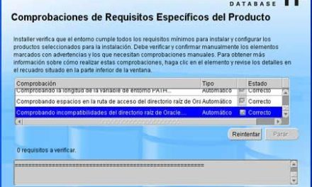 Instalar Oracle Client 11g en un equipo con Microsoft Windows XP
