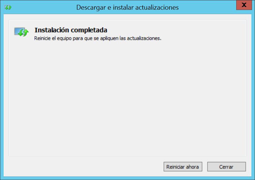 Actualizar PowerShell a la versión 5.1 en equipo Windows Server 2012 R2