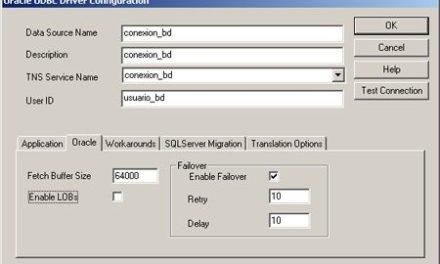 Solución a error: ORA-00933: SQL command not properly ended