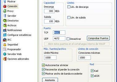 Abrir puertos en router DSL-G804V y firewall de Windows para optimizar eMule