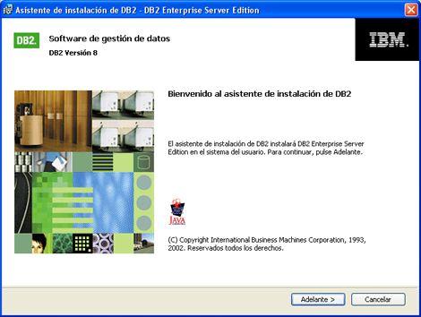 Instalar IBM DB2 Universal Database en Windows