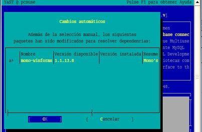 Instalar y configurar MySQL Server 5 en Linux Suse 10