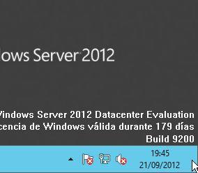 Cómo reiniciar o apagar un equipo con Windows Server 2012