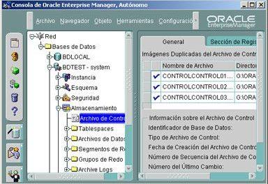 Cómo crear una base de datos en Oracle 9 utilizando el asistente que incorpora