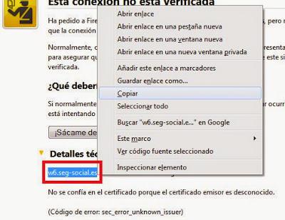 Solución al error sec_error_unknown_issuer y sec_error_untrusted_issuer en Mozilla Firefox