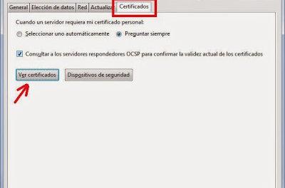 Solución error sec_error_unknown_issuer sec_error_untrusted_issuer Firefox