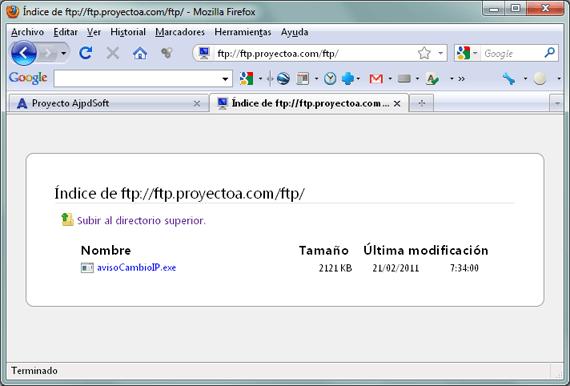 Montar un servidor de FTP en un equipo con Linux Debian