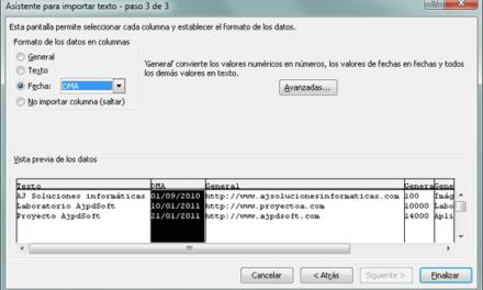 Cómo importar un fichero CSV a Excel xls y a una base de datos Access mdb