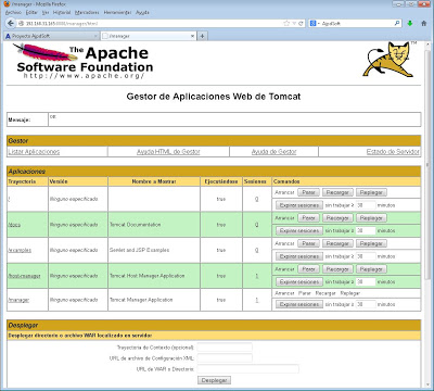 Tomcat y Apache