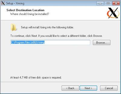 Modo gráfico con Xming y PuTTY en Linux Ubuntu Server 13.04
