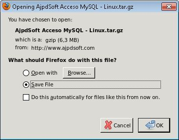 Instalar Mozilla Firefox en GNU Linux Ubuntu Server 13.04 y abrirlo en Windows con Xming y PuTTY