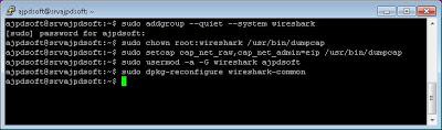 Instalar Wireshark en GNU Linux Ubuntu Server 13.04 y abrirlo en Windows con Xming y PuTTY