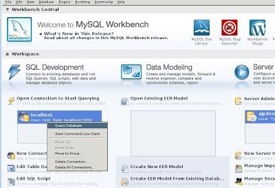 Instalar MySQL Workbench en Linux Ubuntu Server 13.04 y abrir el modo gráfico en Windows con Xming y PuTTY
