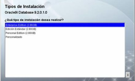 Cómo instalar Oracle 9i en Windows paso a paso
