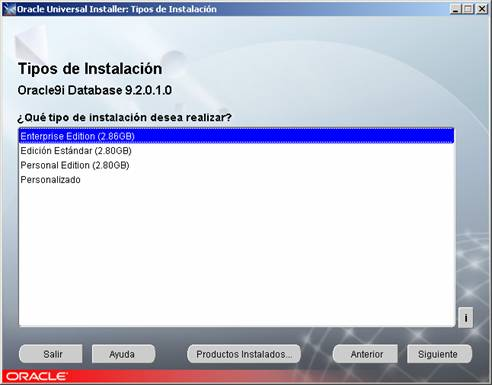 Cómo instalar Oracle 9i en Windows paso a paso