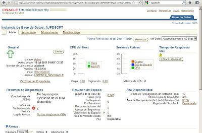Instalar Oracle Database 10g R2 x64 en Windows Server 2008 Standard x64