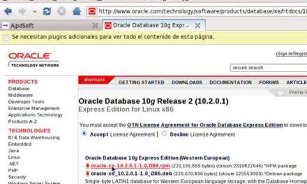 Instalar Oracle Dabase XE (Express Edition) en Linux Fedora 10