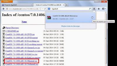 Requisitos para instalar Linux CentOS Minimal en equipo físico