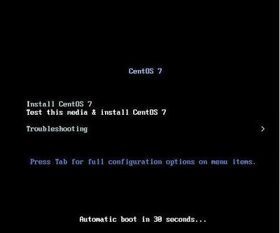Instalar Linux CentOS 7.0 Minimal