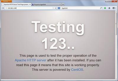 Instalar Apache en Linux CentOS 7, abrir puertos http y https cortafuegos