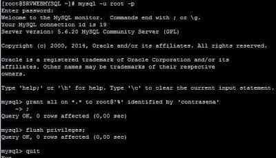 Configurar seguridad MySQL Server y acceso externo en Linux CentOS 7
