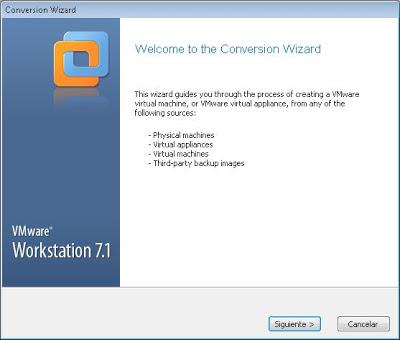 Exportar máquina virtual de VMware Workstation a VMware ESXi