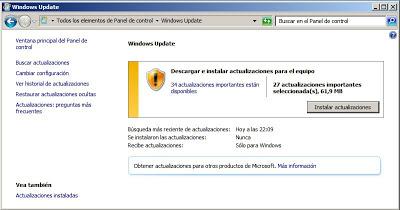 Algunas tareas de administración tras instalar Windows Server 2008