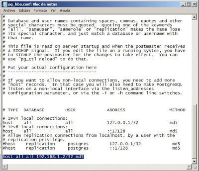 Configurar PostgreSQL para permitir conexiones externas remotas