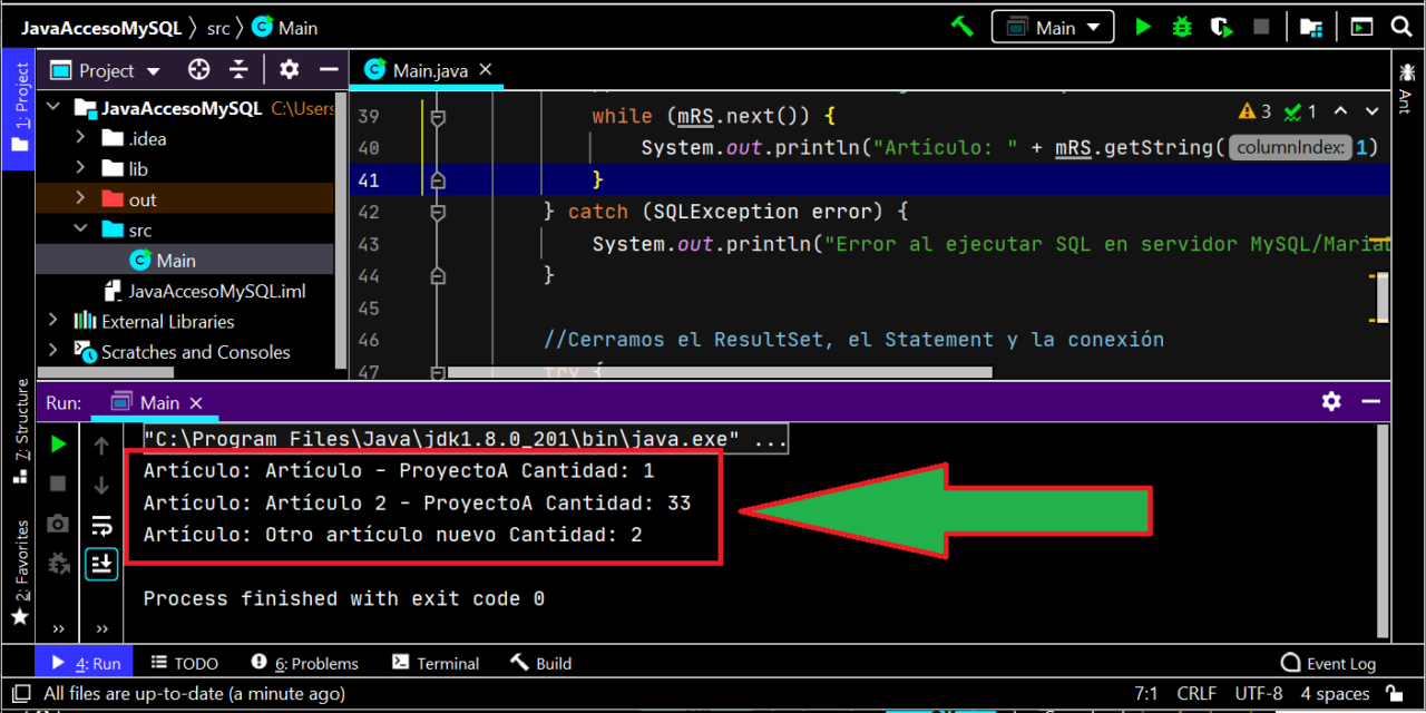 Acceso nativo a servidor MySQL Server y MariaDB con Java y JDBC