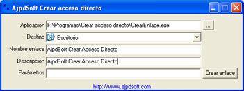 AjpdSoft Crear acceso directo Código Fuente Delphi 6