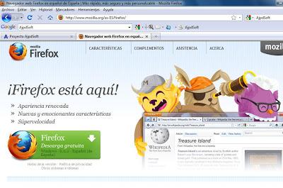 Actualizar de Firefox 3 a Firefox 6, instalar Mozilla Firefox 6