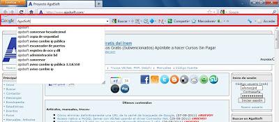 Instalar la barra de Google en Mozilla Firefox 5 y 6 activar complementos